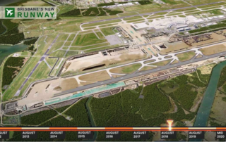 Brisbanes New Airport Runway