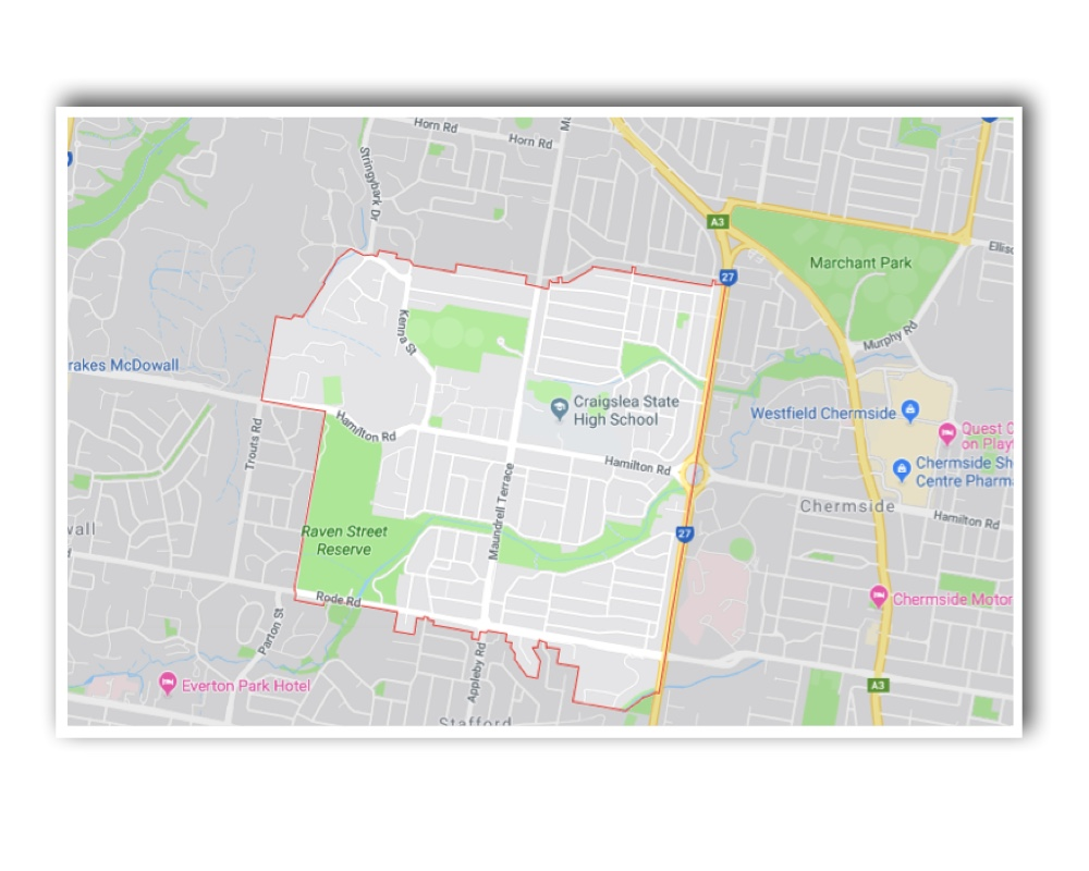 Chermside West Map