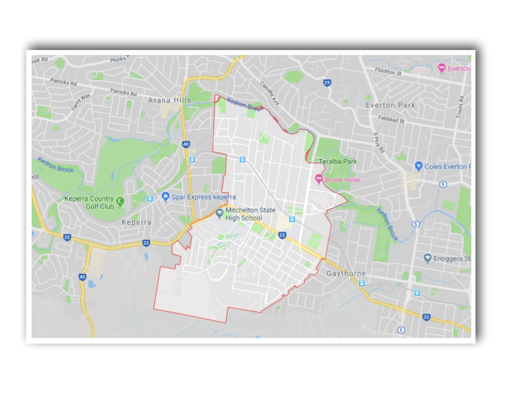 Mitchelton Map