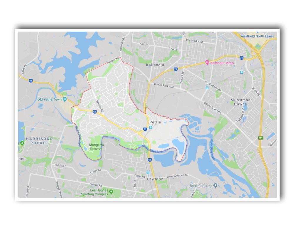 Petrie Map