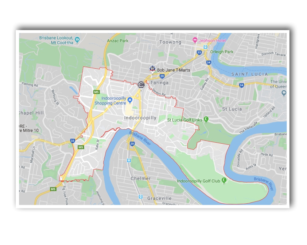 Indooroopilly Map
