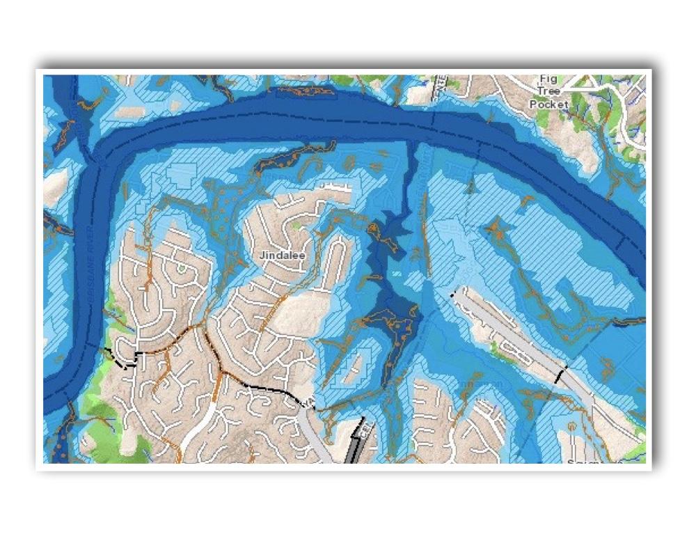 Jindalee Brisbane Flood Map