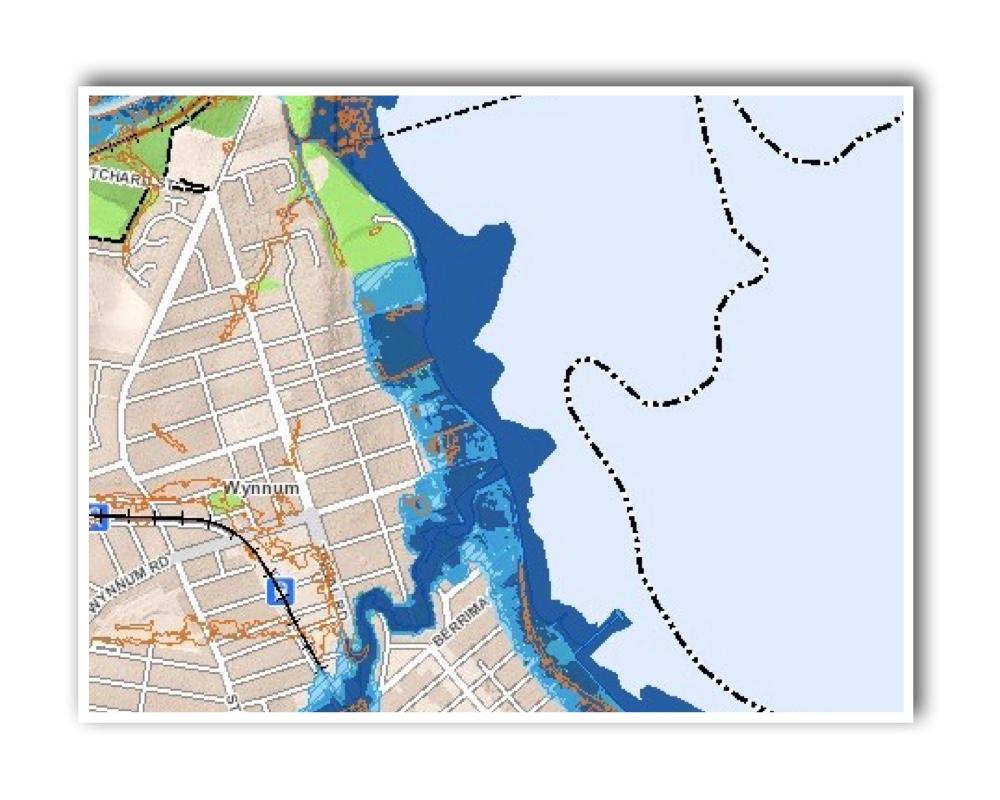 Wynnum Brisbane Flood Map