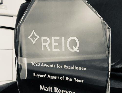 WINNER – REIQ Buyers Agent of the Year 2020