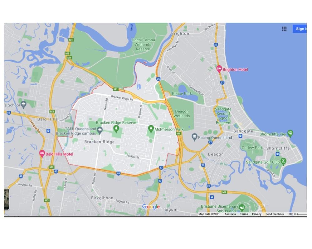 Deagon Suburb Map